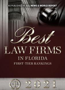 Best Law Firms 2021 Plaque